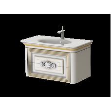 Botticelli серия TREVISO, тумба с умывальником - T-100 , цвет белый