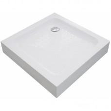 Eger 599-005-80 VI`Z квадратный поддон 80*80*15 см, сифон в комплекте