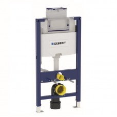 Geberit 111.030.00.1  Duofix монтажный элемент со встроенным бачком Omega 12см, с фронтальным или горизонтальным управлением, высота 98 см