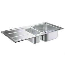 Grohe K400 31567SD0 Кухонная мойка из нержавеющей стали 970х500 мм