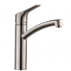 Hansgrohe 13861800 MySport M Смеситель для кухни, однорычажный , цвет сталь