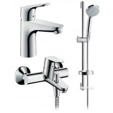 Hansgrohe 31940111 Focus Набор смесителей для ванны