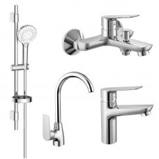 Imprese kit30094 Набор смесителей для ванны и кухни (4 в 1), kit30094