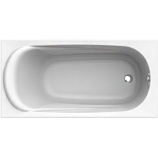 KOLO Ванна акрилова прямокутна SAGA 150х75 см у комплектi з нiжками та елементами крiплення, біла (XWP3850000)