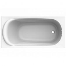 KOLO Ванна акрилова прямокутна SAGA 160х75 см у комплектi з нiжками та елементами крiплення, біла (XWP3860000)