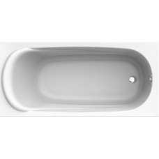 KOLO Ванна акрилова прямокутна SAGA 170х80 см у комплектi з нiжками та елементами крiплення, біла (XWP3870000)