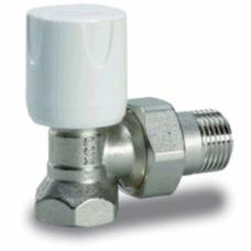 Luxor 11022103GRA Кран радиаторный с ручной регулировкой угловой 1/2