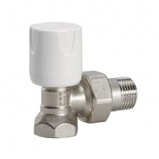 Luxor 11122103 Кран радиаторный с ручной регулировкой угловой 1/2