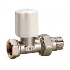 Luxor 11222100 Кран радиаторный с ручной регулировкой проходной 1/2