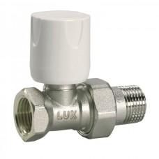 Luxor 11222700 Кран радиаторный с ручной регулировкой проходной 3/4