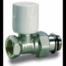 Luxor 11322103 Кран радиаторный с ручной регулировкой проходной 1/2