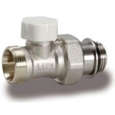 Luxor 11362103 Кран радиаторный отсекающий проходной 1/2 o-ring
