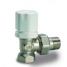 Luxor 12022100 Кран радиаторный термостатический угловой 1/2