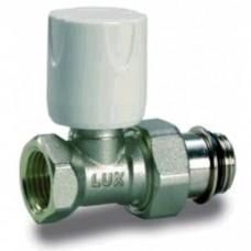 Luxor 12222103GRA Кран радиаторный термостатический проходной 1/2