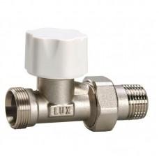 Luxor 12222700 Кран радиаторный термостатический проходной 3/4