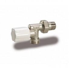 Luxor 13062100 Радиаторный вентиль ручной и реверсивным корпусом 1/2