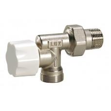 Luxor 13102100 Радиаторный вентиль с защитным колпачком и реверсивным корпусом термостатический 1/2