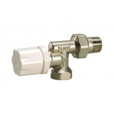 Luxor 13202100 Радиаторный вентиль с защитным колпачком и реверсивным корпусом термостатический 1/2
