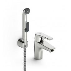 Oras 3912F Saga смеситель для умывальника с ручным душем Bidetta