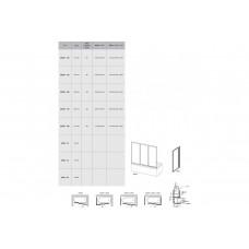 Ravak 40VG0U0241  Шторка для ванны  AVDP3- 120 Сатин RAIN