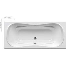 Ванна прямоугольная Ravak Campanula II 180x80 см (CB21000000)