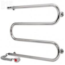 Электрический полотенцесушитель LARIS Змеевик 25 РС3 700x500 73207118 (подключение слева)