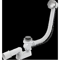 Alcaplast A55K-57 Сифон для стандартной ванны , гофра 57 см