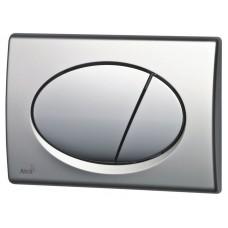 Кнопка управления AlcaPlast M73 (доска-хром,кнопка-матовая)