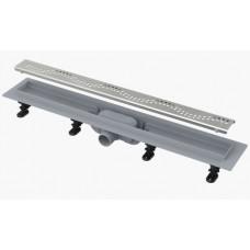 AlcaPlast APZ8 750 мм Водоотводящий желоб (трап) для душа с порогами для перфорированной решетки
