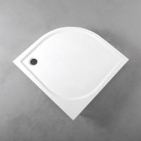 Душевой поддон Fancy Marble полукруглый, 1000х1000 R550