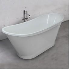 Ванна Fancy Marble Newton из литого камня. Размер ванны 1607х640х660