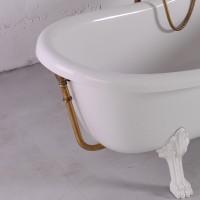 Слив c переливом для ванны Fancy Marble Lady Hamilton. Цвет бронза