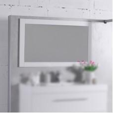 Зеркало для ванной комнаты Fancy Marble, модель M-1 , цвет на быбор : белый или венге