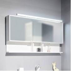 Зеркало для ванной Fancy Marble модель MC-Butterfly , цвет на быбор : белый или венге. Размер 1205х650х125 мм