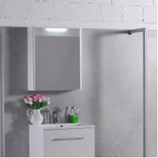 Зеркало для ванной комнаты Fancy Marble, модель MC Santorini 600, цвет на быбор : белый или венге