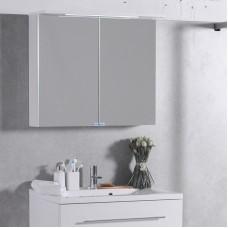 Зеркало для ванной Fancy Marble модель MC-10 , цвет на быбор : белый или венге . Размер 800х700х270