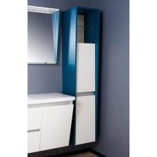 Пенал для ванной комнаты Fancy Marble, модель Peggy. Размер 350х1750х400 мм