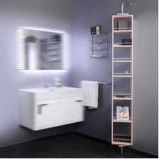 Пенал для ванной комнаты Fancy Marble, модель SCMR. Размер пенала 270х1700х200 мм