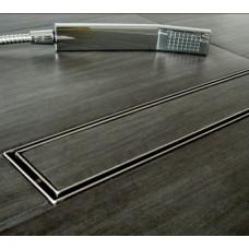 Душевой цельнометаллический трап (дренажный канал) Cedor Super Slim под плитку 70 см