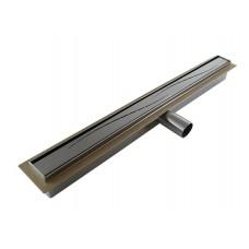 Душевой цельнометаллический трап (дренажный канал) Cedor Super Slim Sea 70 см
