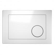 Кнопка пластиковая белая Cersanit LINK