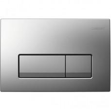 Смывная клавиша Geberit Delta51 115.105.46.1 , пластик хром матовый