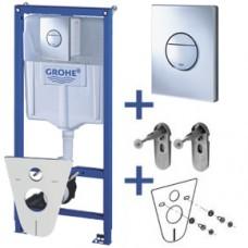 Grohe Rapid SL 38813001 Инсталляционная система для унитаза 4 в 1