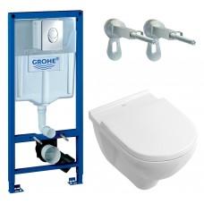 Набор инсталляция Grohe Rapid SL 38721001 и унитаз Villeroy & Boch O.Novo 5660H101 + сидение SoftClose