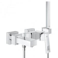 Grohe Eurocube 23141000 Смеситель для ванны, с душевым комплектом