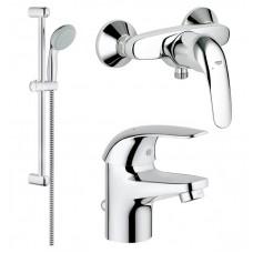 Grohe Euroeco 123232S Набор смесителей в душ
