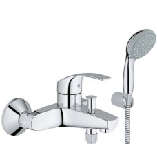 Grohe Eurosmart New 33302002 Смеситель для ванны с душевой лейкой