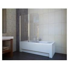 Шторка для ванны Koller Pool QP95 (левосторонняя) 1150x1400 хром , прозрачное стекло