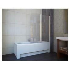 Шторка для ванны Koller Pool QP95 (правосторонняя) 1150x1400 хром , прозрачное стекло