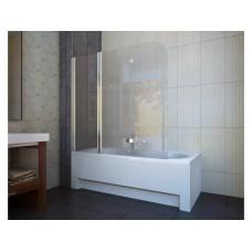 Шторка для ванны Koller Pool QP96 (левосторонняя) 1500x1400 хром , матовое стекло
